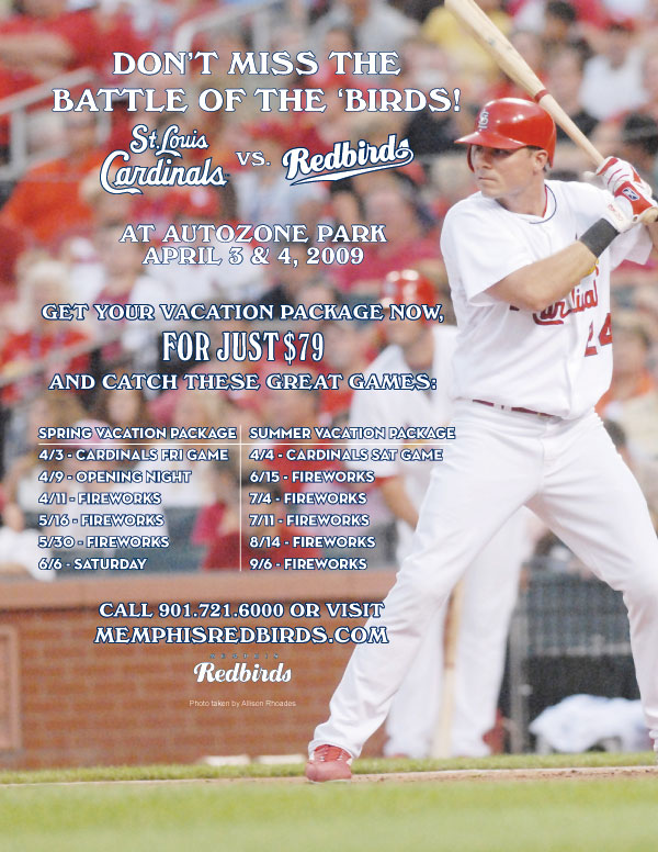 2009 St. Louis Cardinals Memphis Redbirds Exhibition Game Concerts!