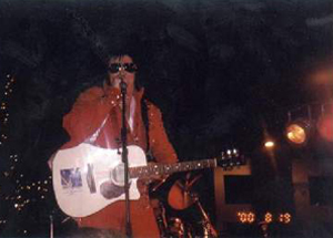 Indiana Elvis impersonator Artist Paul 'Elvis' Butler