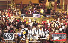 Memphis Sound™ concert production lights staging roof