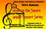 Main Street Collierville TN Sunset On the Square Summer Concert Series!